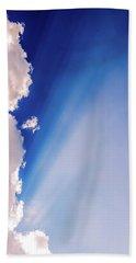 Colours.blue Beach Towel