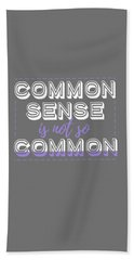 Common Sense Beach Sheet
