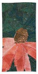 Cone Flower Beach Towel