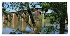 Congaree Trestels From The East Beach Towel