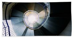 Convoluted Staircase  Beach Towel