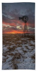 Beach Towel featuring the photograph Cool Breeze  by Aaron J Groen