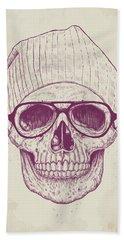 Cool Skull Beach Towel