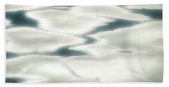Beach Towel featuring the painting Cool Tranquility by Donna Lee
