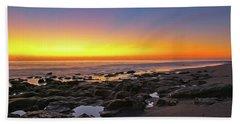 Coral Cove Nautical Twilight Beach Sheet
