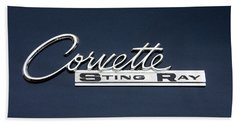 Corvette Stingray Beach Towel