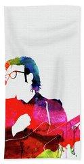 Costello Watercolor Beach Towel