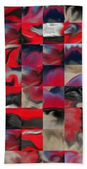 Coupe Rouge Beach Towel