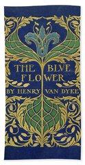 Cover Design For The Blue Flower Beach Sheet