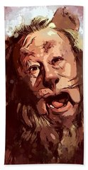 Cowardly Lion - The Wizard Of Oz Beach Towel