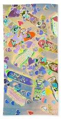 Creative Skate Beach Towel