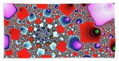 Creative Spiral Abstract Art Beach Towel