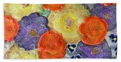 Crochet Bouquet Beach Sheet