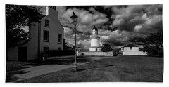 Cromarty Lighthouse Beach Towel
