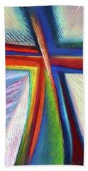 Cruciform #1 Beach Towel