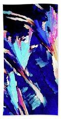 Crystal C Abstract Beach Towel