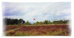 Culloden Battlefield Painting Beach Sheet
