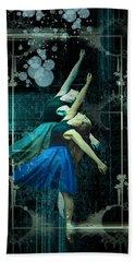 Cunha Ballet Dancer Transformation Beach Towel