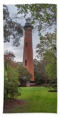 Currituck Beach Light Beach Towel