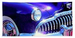 Custom 1949 Purple Buick Beach Sheet