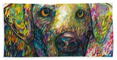 Daisy The Dog Beach Towel