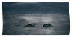 Dark And Stormy Beach Towel