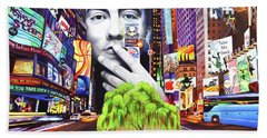 The Dave Matthews Band Paintings Beach Towels