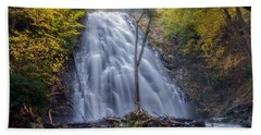 Dawn At Crabtree Falls Beach Towel