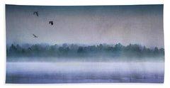 Dawn Of The Fog Beach Towel