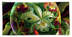 Day Lily Dreams Beach Sheet
