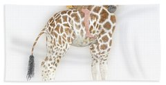 Daydreaming Of Giraffes  Beach Towel