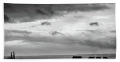 Days End At Hvammstangi Beach Towel