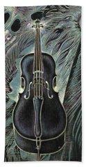 Deep Cello Beach Sheet