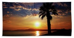 Deep Serene  Beach Towel