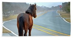 Delegats's Pride Looking For Visitors To Assateague Island Beach Towel