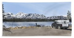 Denali Highway -- Photo Stop Beach Towel