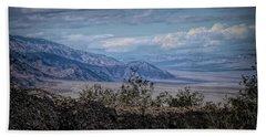 Desert Landscape Beach Towel