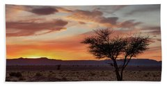 Desert Sunset II Beach Towel