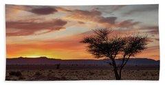 Desert Sunset II Beach Sheet