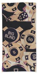 Diamond Odds Beach Towel