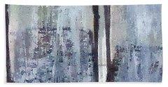 Digital Abstract N13. Beach Towel