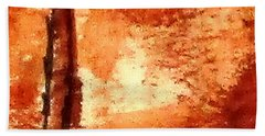 Digital Abstract No9. Beach Towel