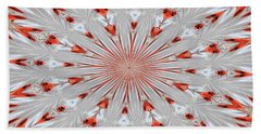 Digitalized Cardinal Beach Towel