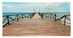 Dock To Infinity Beach Towel