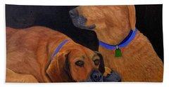 Dog Love Beach Sheet