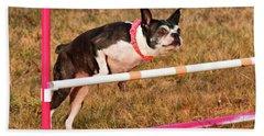 Doggie Agility  Beach Towel