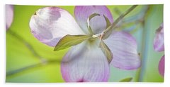 Dogwood Blossom In Spring Beach Sheet