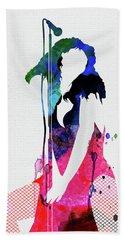 Donna Watercolor Beach Towel