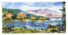 Donner Lake Fisherman Beach Sheet