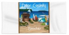 Door County Beaches Beach Towel